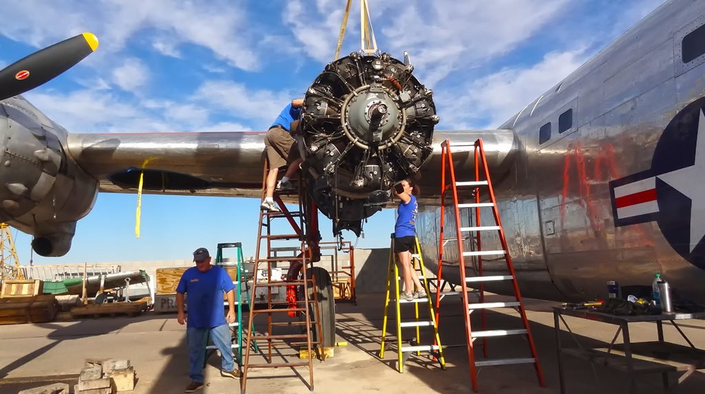 Removing the #3 engine