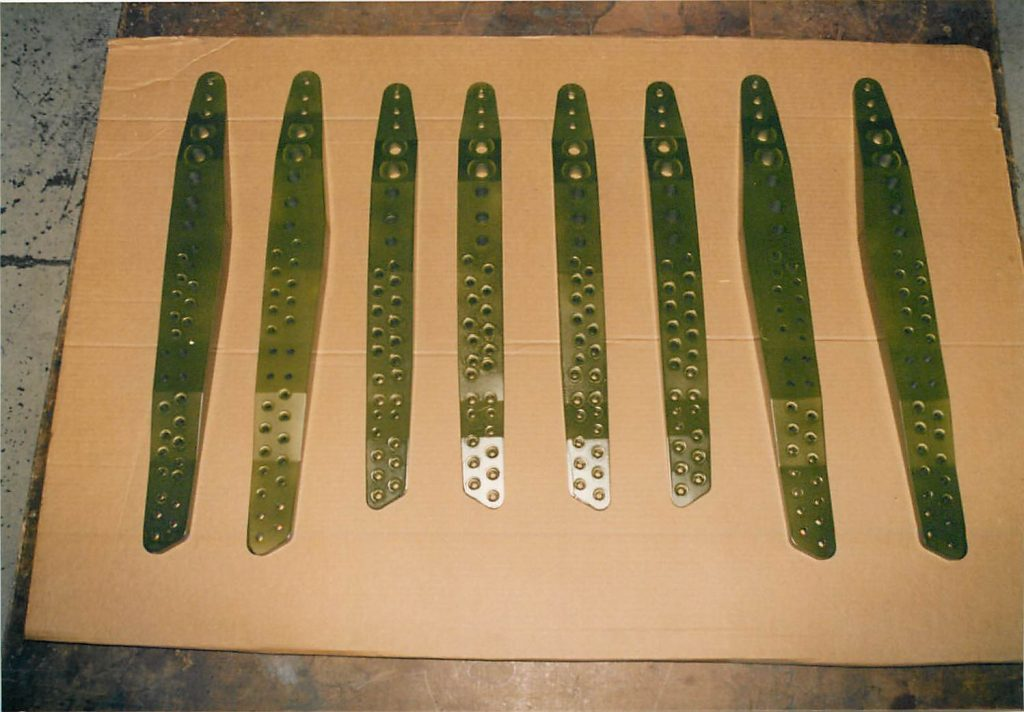 Fabricated doublers