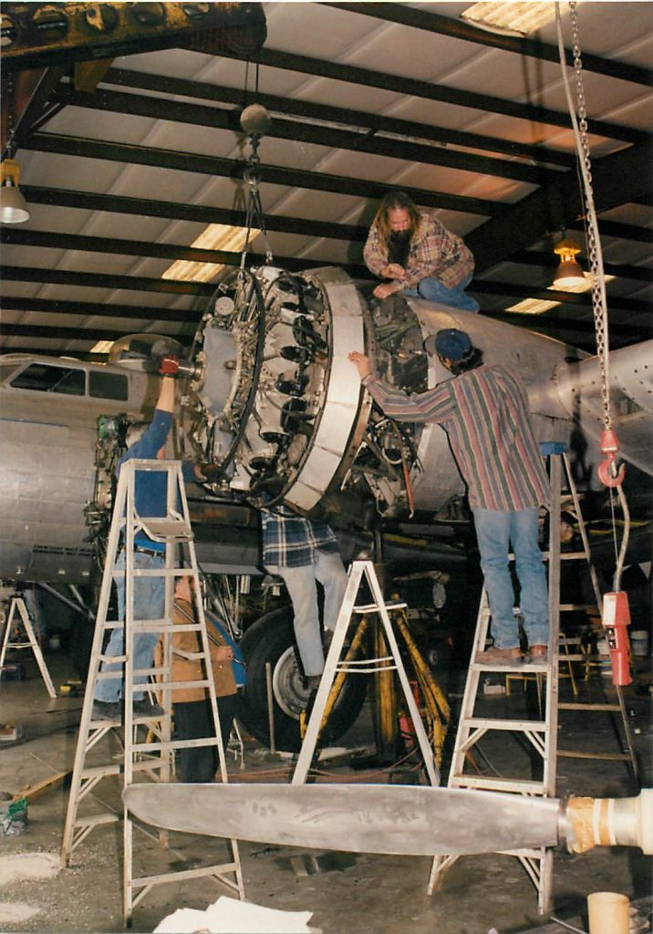 Installing engines