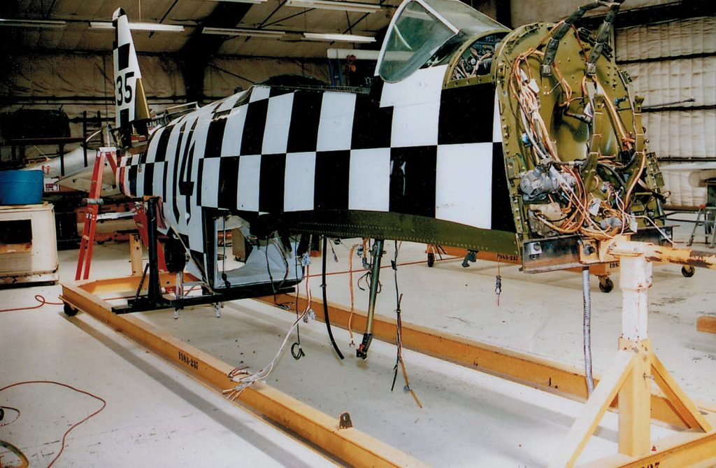 Fuselage, after restoration