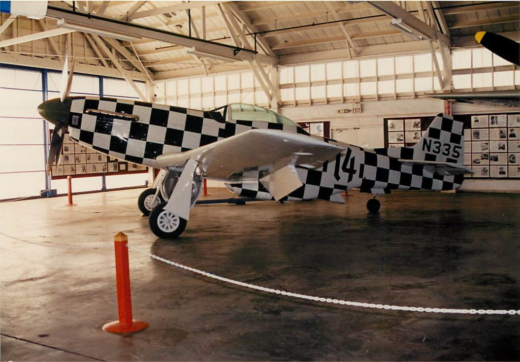 On display in the Champlin Fighter Museum