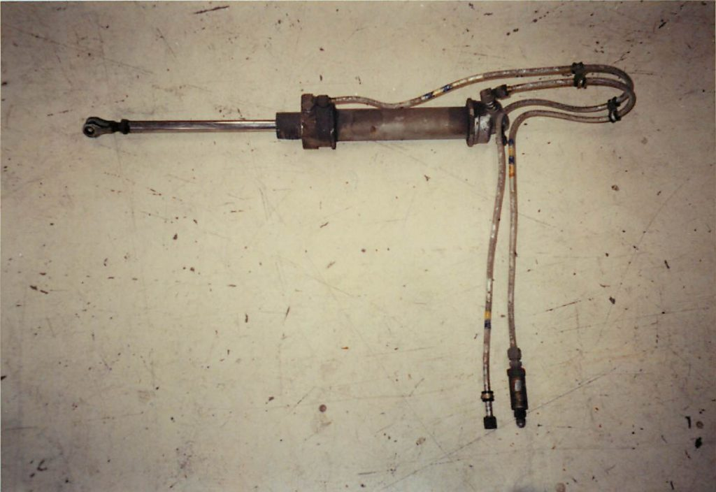 Flap actuator, before restoration