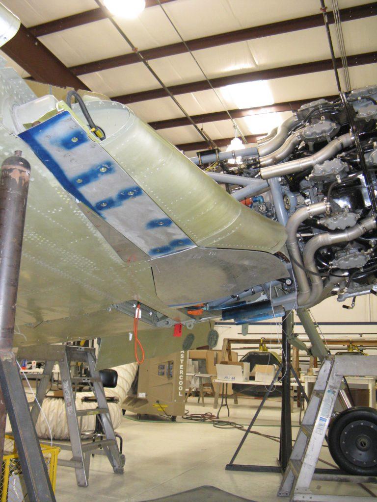 Fitting landing gear