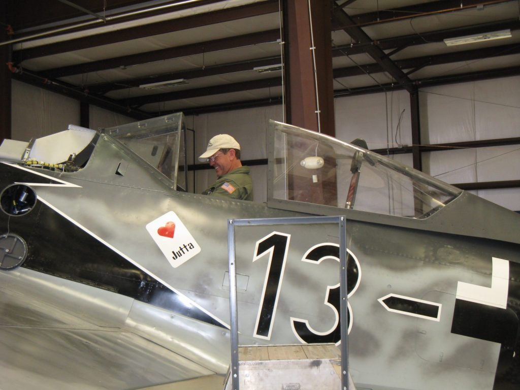 Owner excited about nearly complete aircraft