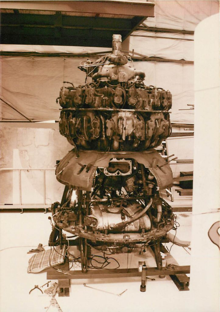 Engine, before restoration