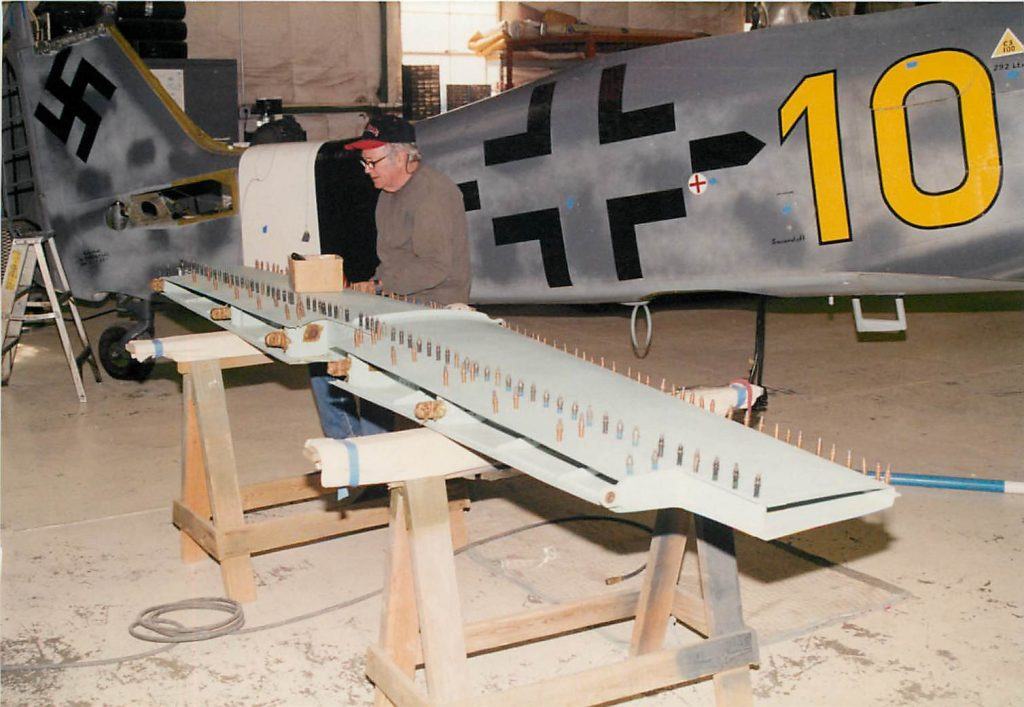 Fabrication of horizontal stabilizer