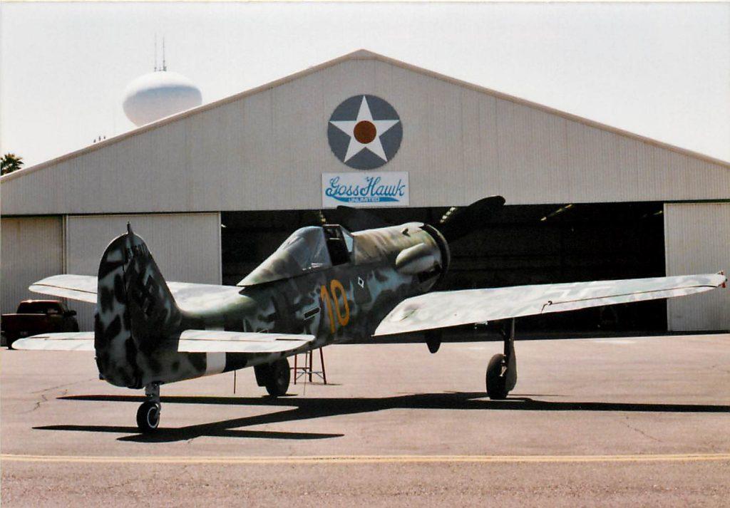 Completed Focke-Wulf Fw 190D-13/R11