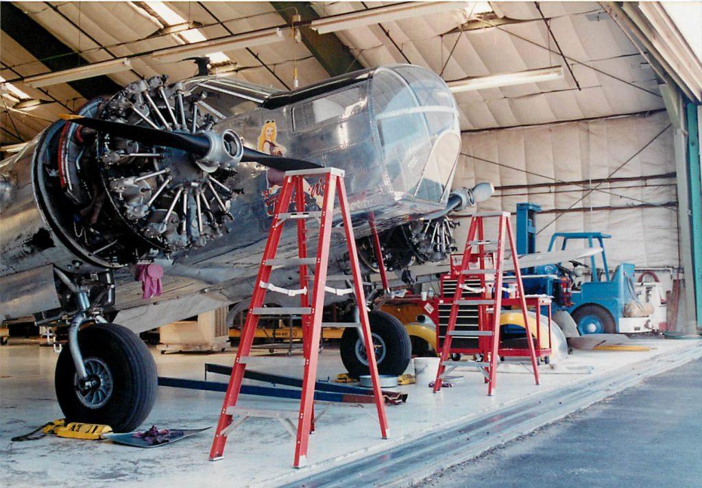 Engine change preparation