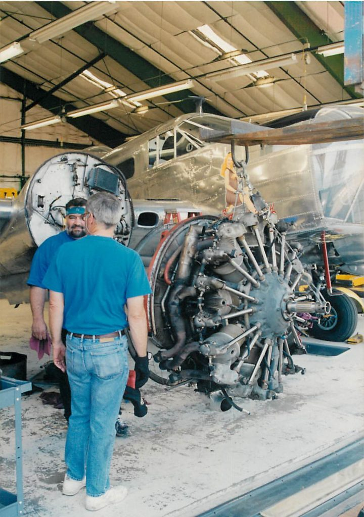 Engine change, removal of engine