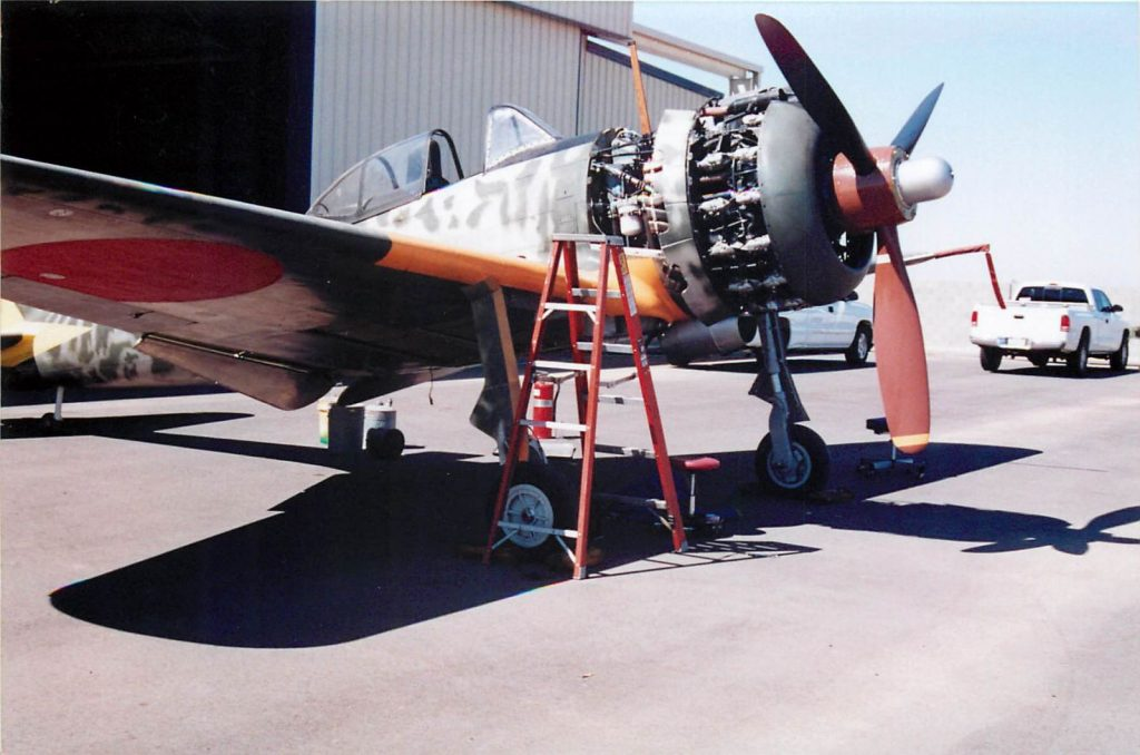 Aircraft reassembled