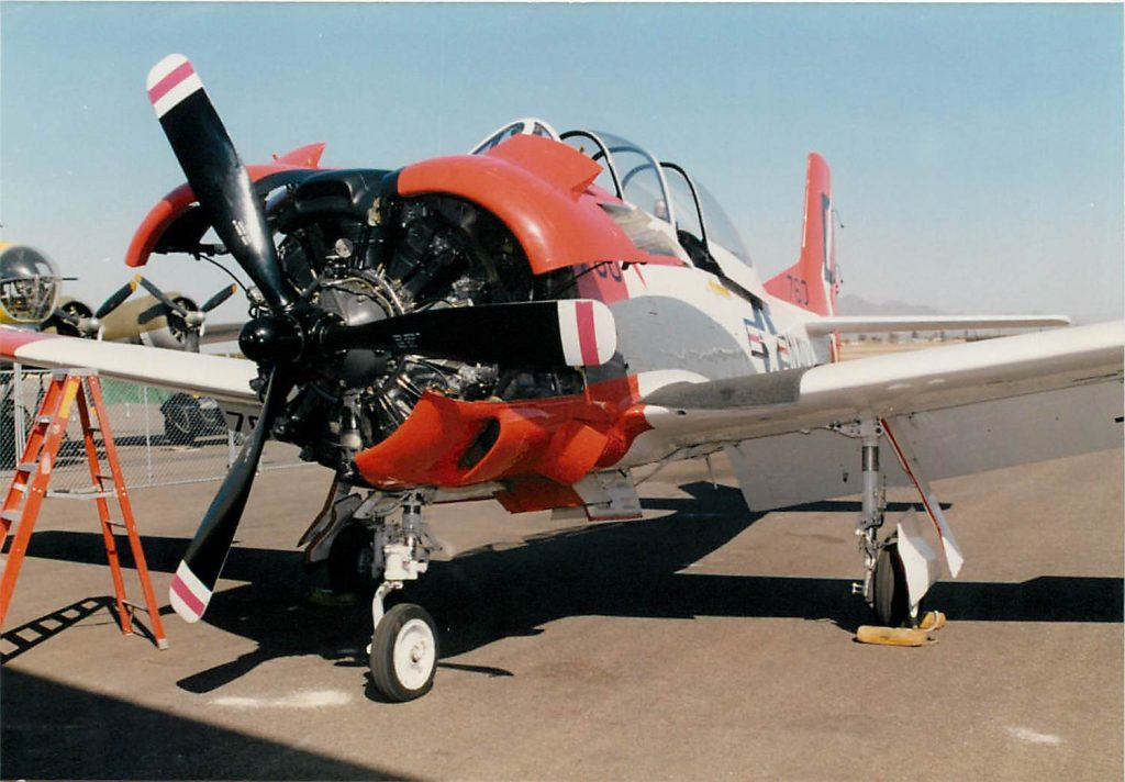 North American T-28B