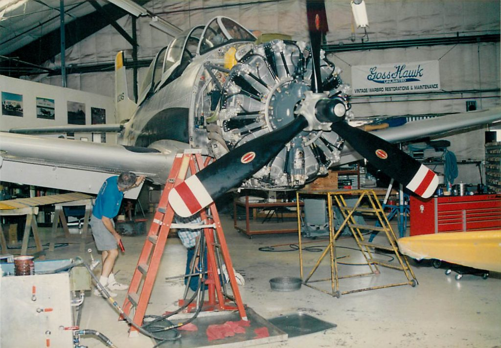 Landing gear swing and inspection