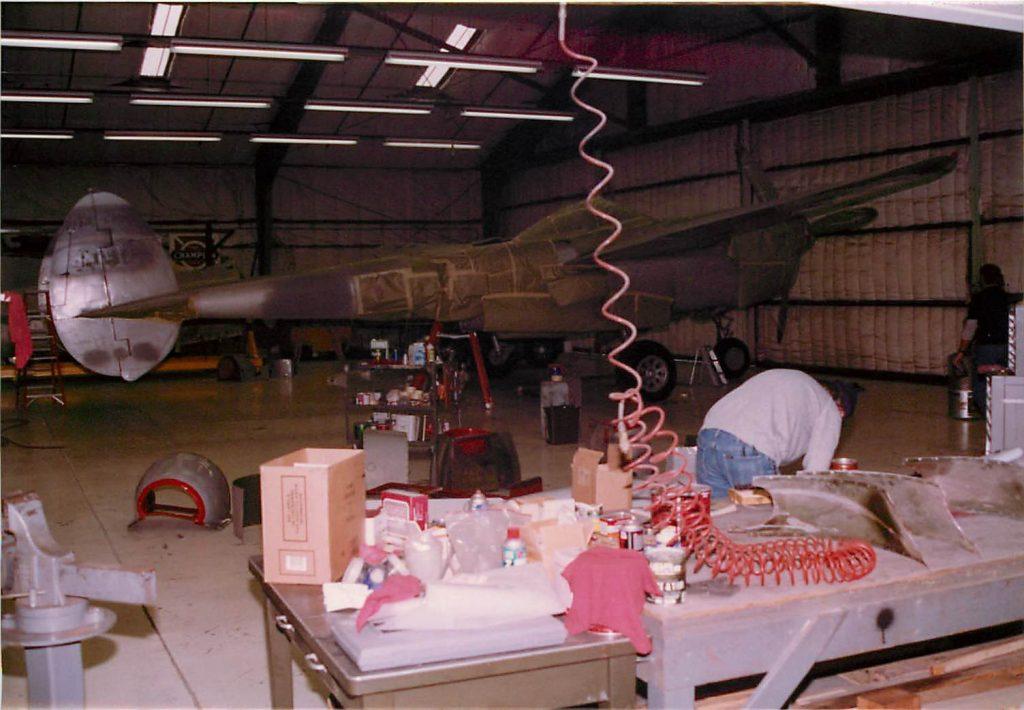 Masking off aircraft