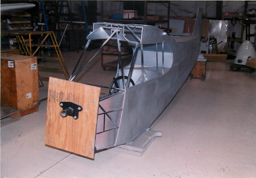 Fuselage, as delivered