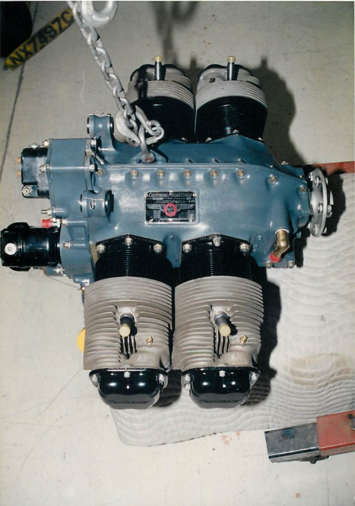 Continental C85 engine