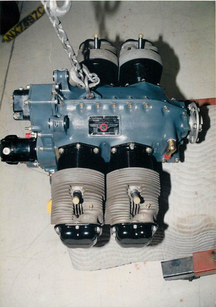Continental C85 engine
