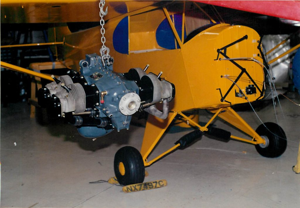 Installing engine