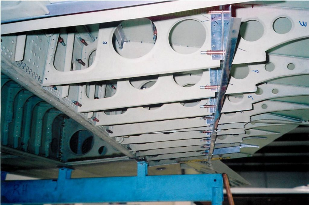 Fabrication of aft lower wing structure