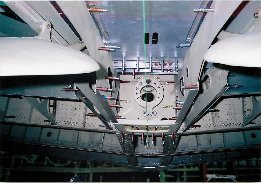 Fabrication of wing center section