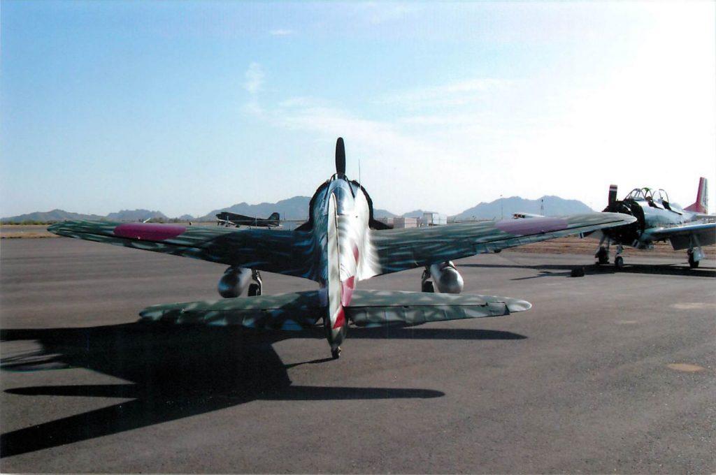 "Nakajima Ki-43 II ""Oscar"" complete"
