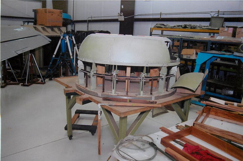 Fabricating nose cowling