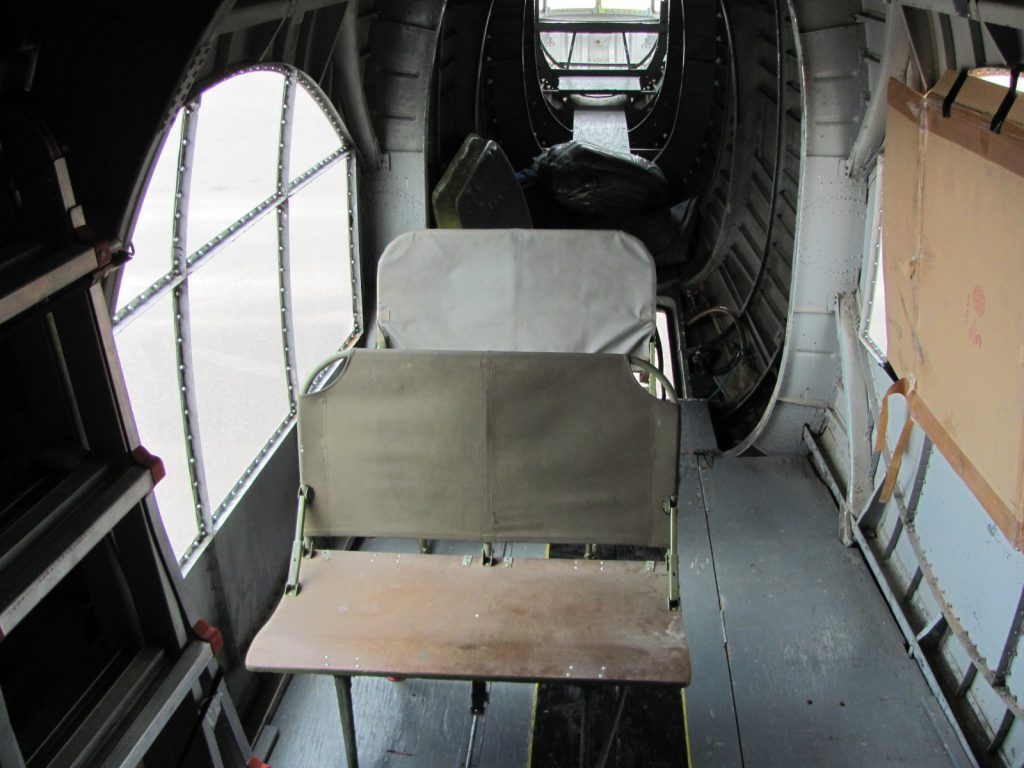 Seats installed in waist position