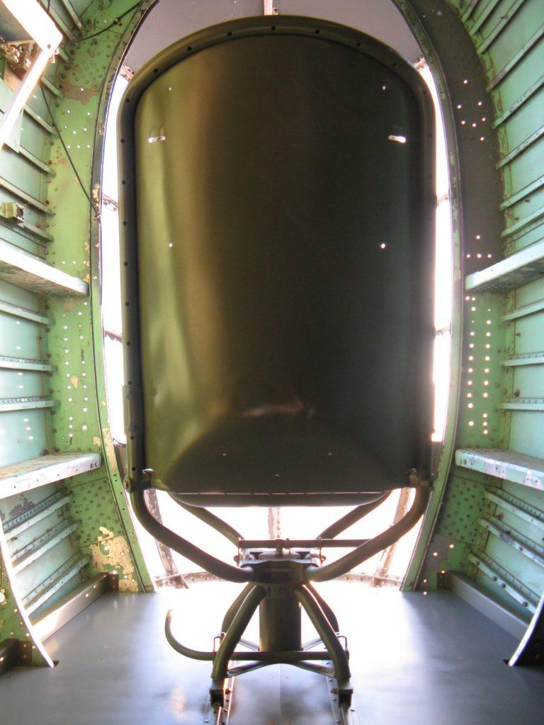 Restored seat installed