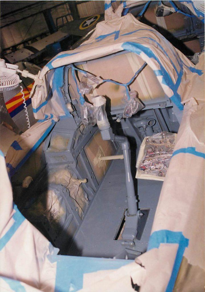 Painting cockpit