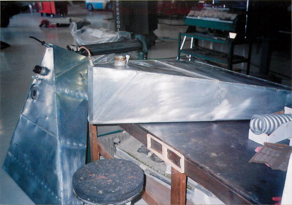 Fuel tanks, after restoration