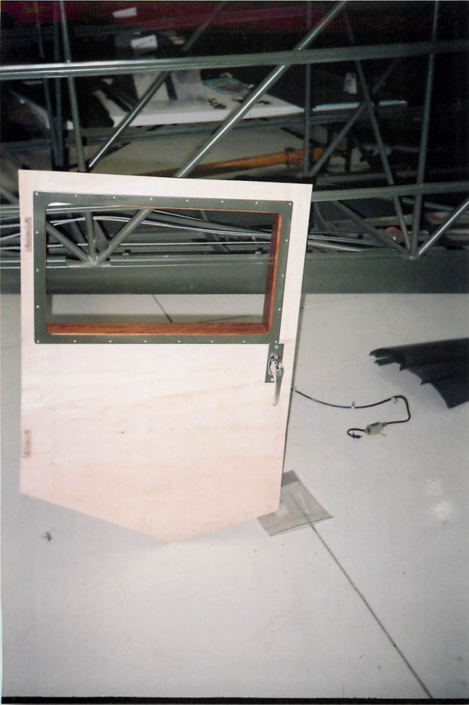 Fabricated door