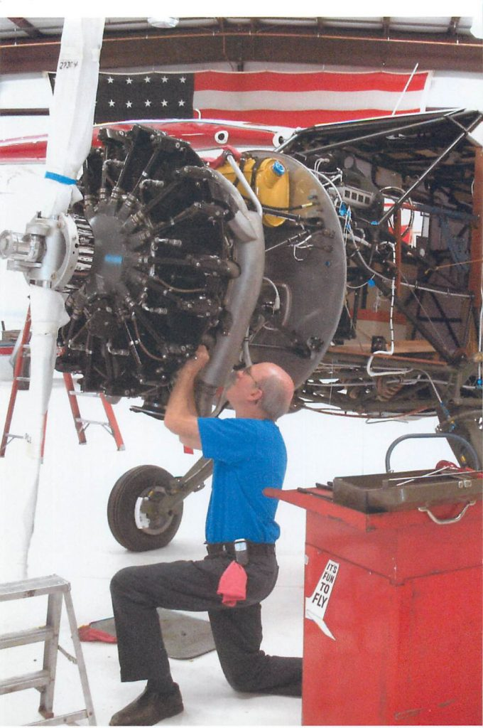 Installing engine components