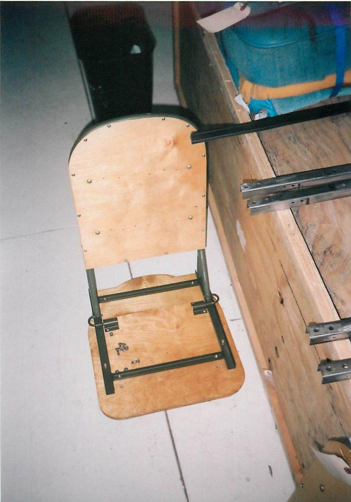 Fabricated seat