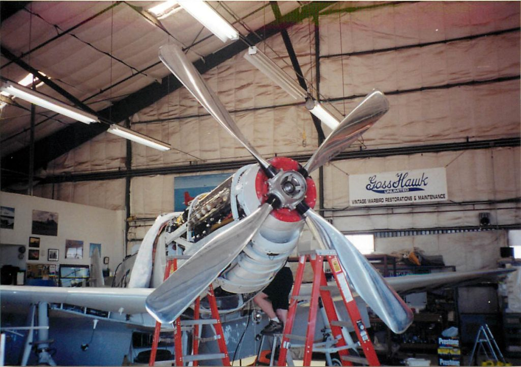 Propeller installation