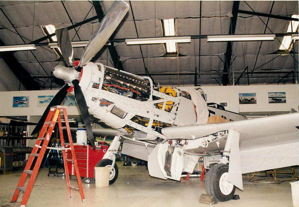 Propeller installed