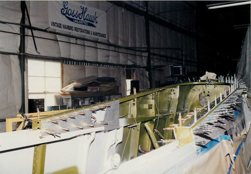 Fuselage, in restoration process