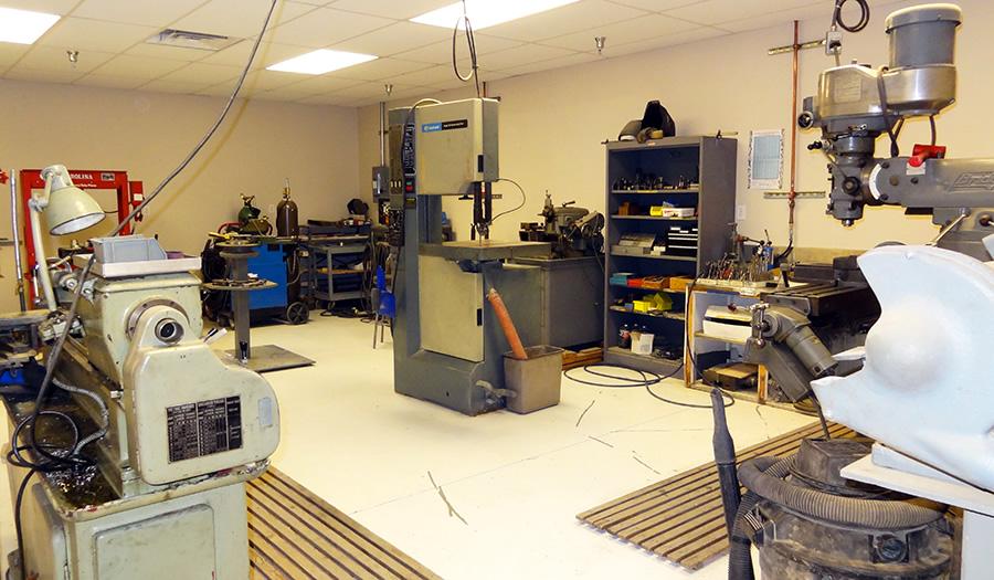 The GossHawk machine shop