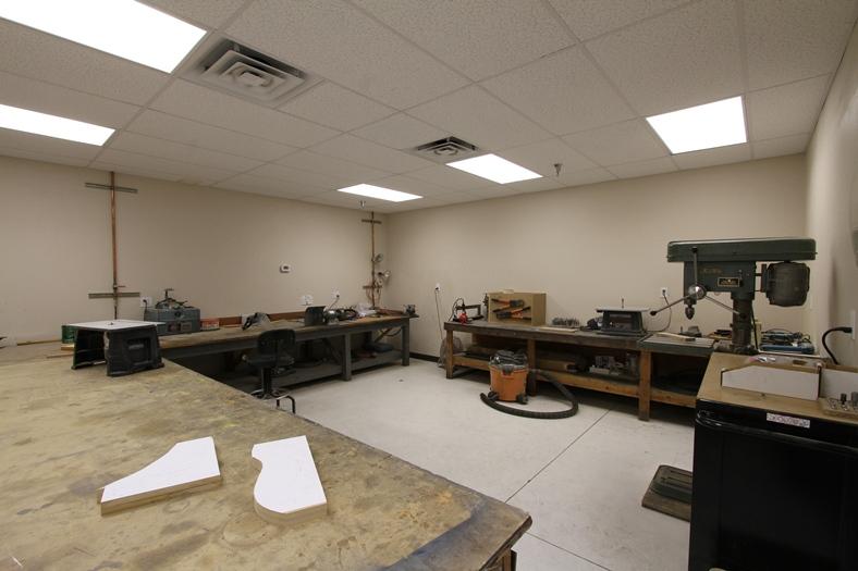 The GossHawk metal fabricating shop