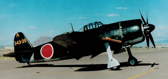 "Complete restoration of the Japanese Kawanishi N1K2-J ""George"" now on display at the Smithsonian National Air and Space Museum."