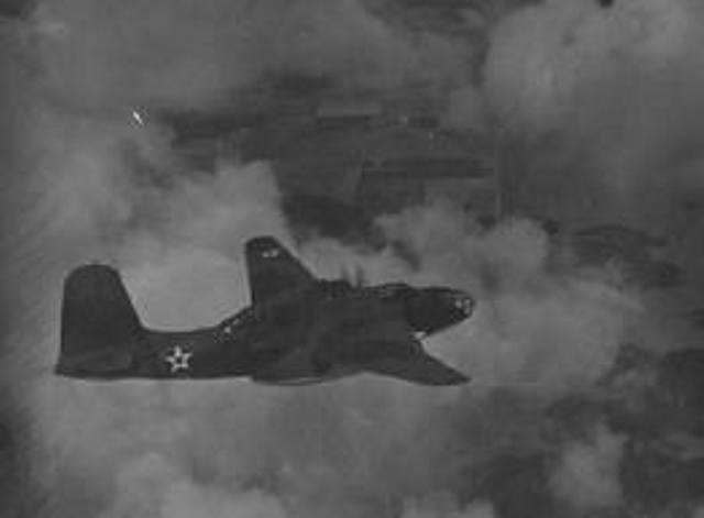 Douglas A-20 Havoc in flight