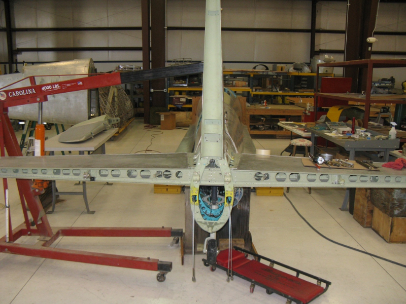 Preliminary mounting of horizontal stabilizer