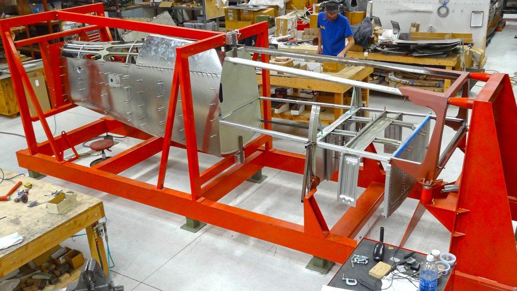 Fuselage, in fuselage fixture