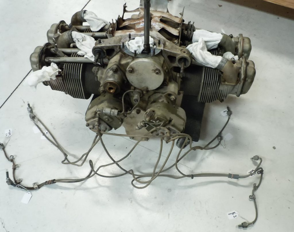 Continental C85-12 engine